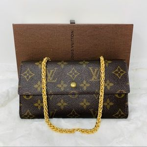 Authentic Louis Vuitton International Wallet